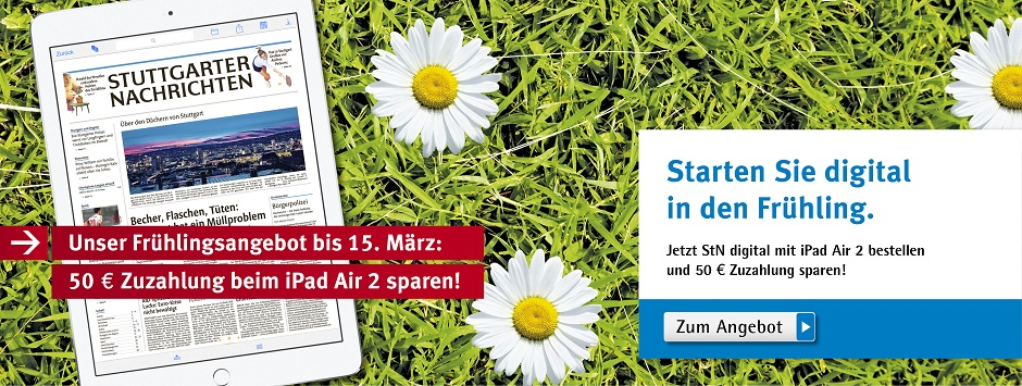 StN - 50 Euro iPad Air 2 sparen