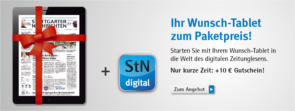StN Digitalpaket StN digital + Tablet zum Paketpreis